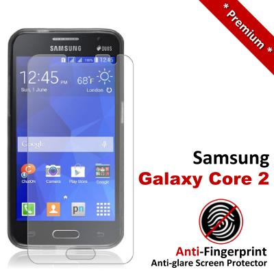 Premium Anti-Fingerprint Matte Samsung Galaxy Core 2 Screen Protector
