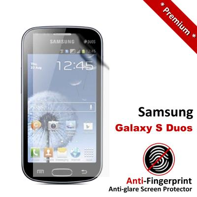Premium Anti-Fingerprint Matte Samsung Galaxy S Duos Screen Protector