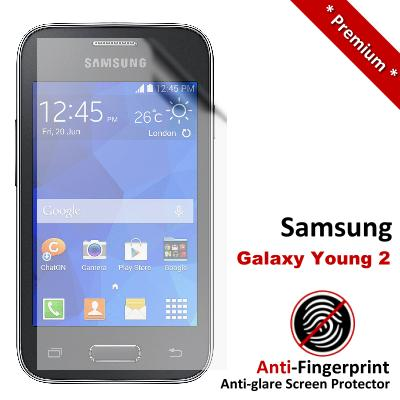 Premium Anti-Fingerprint Matte Samsung Galaxy Young 2 Screen Protector