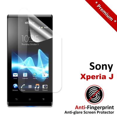Premium Anti-Fingerprint Matte Sony Xperia J Screen Protector