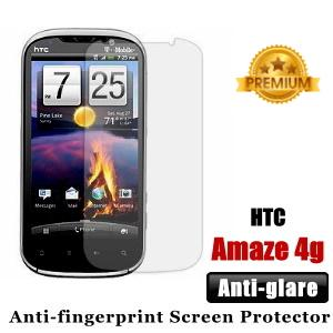 Premium Anti-glare HTC Amaze 4G Screen Protector - Matte