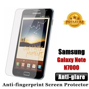 Premium Anti-glare Samsung Galaxy Note N7000 Screen Protector - Matte