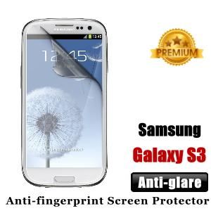 Premium Anti-glare Samsung Galaxy S3 Screen Protector - Matte