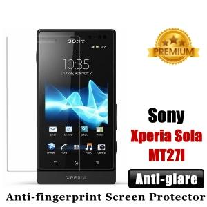 Premium Anti-glare Sony Xperia Sola MT27I Screen Protector - Matte