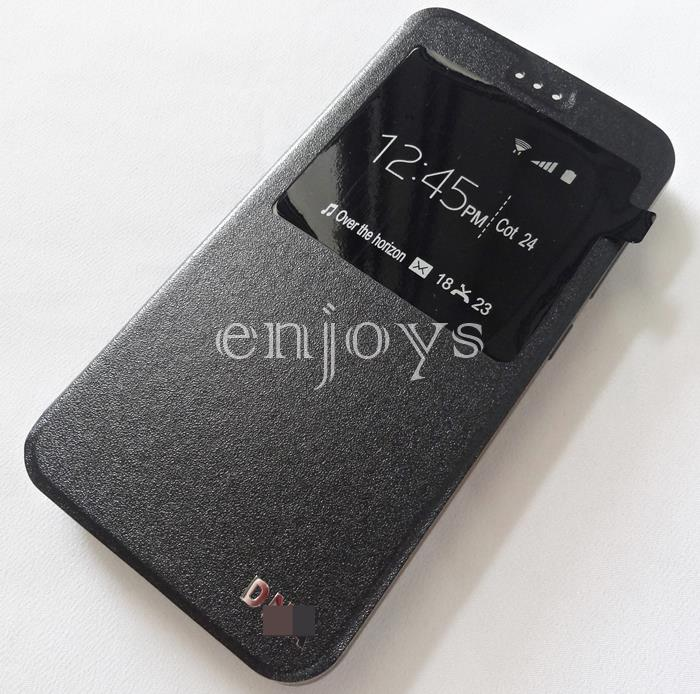 Premium BLACK S View Soft Case Cover Asus Zenfone 3 Max ZC553KL ~5.5'