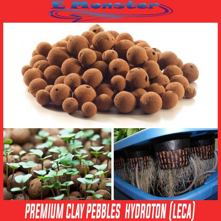 Premium Clay Pebbles Ball Hydroton LECA For Hydroponics 1Kg 1 Kg Pack