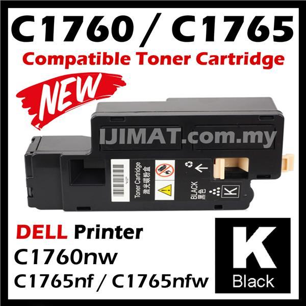Premium DELL C1760nw C1765nf C1765nfw Black Toner C1760 1765 1760