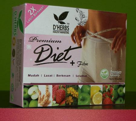Premium Diet Plus Fibre - ingin mngecapi berat badan ideal