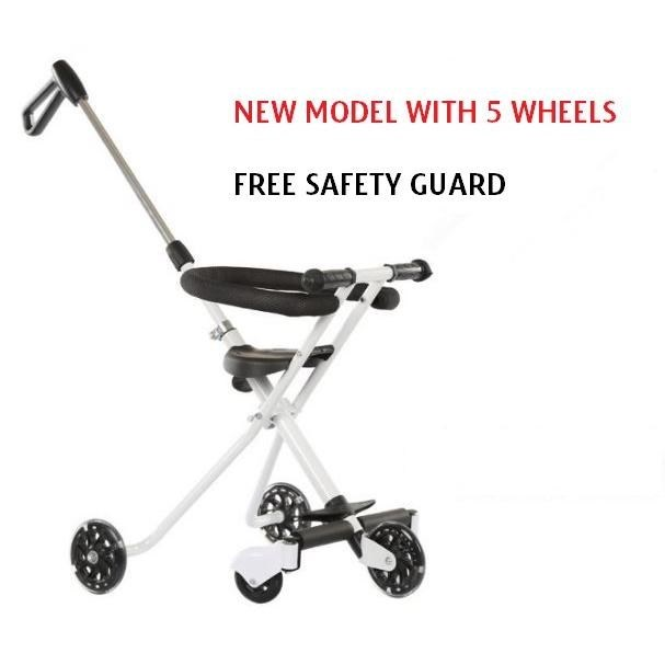 PREMIUM MAGIC BABY STROLLER WITH BASKET