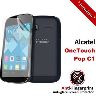 Premium Matte Alcatel OneTouch Pop C1 Screen Protector