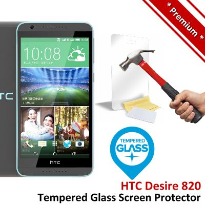 Premium Protection HTC Desire 820 Tempered Glass Screen Protector