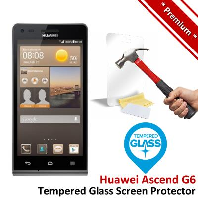 Premium Protection Huawei Ascend G6 Tempered Glass Screen Protector