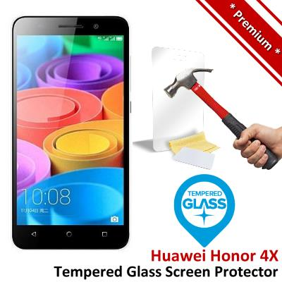 Premium Protection Huawei Honor 4X Tempered Glass Screen Protector