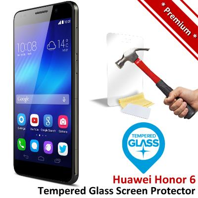Premium Protection Huawei Honor 6 Tempered Glass Screen Protector