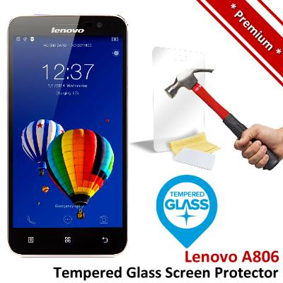 Premium Protection Lenovo A8 A806 Tempered Glass Screen Protector