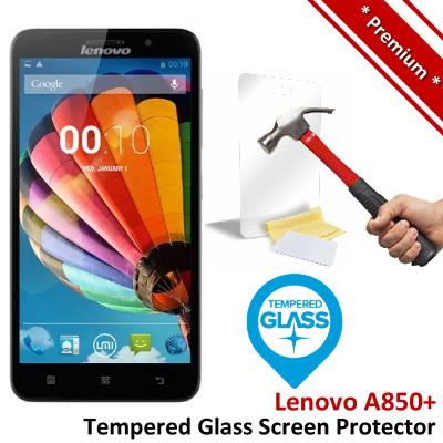 Premium Protection Lenovo A850+ Tempered Glass Screen Protector