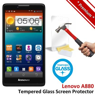 Premium Protection Lenovo A880 Tempered Glass Screen Protector