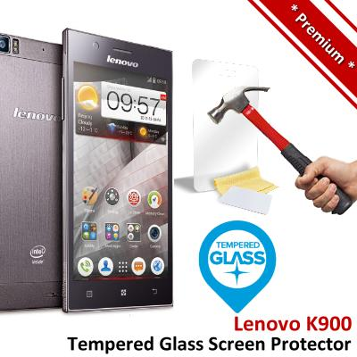 Premium Protection Lenovo K900 Tempered Glass Screen Protector