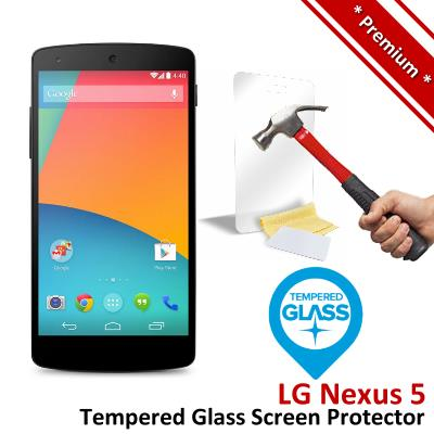 Premium Protection LG Nexus 5 Tempered Glass Screen Protector