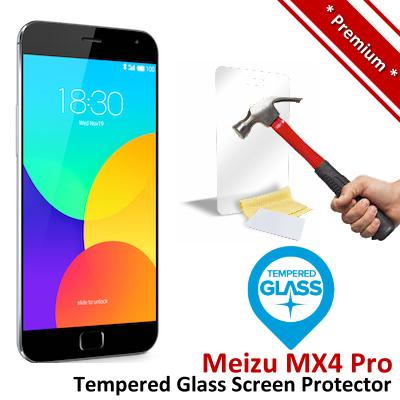 Premium Protection Meizu MX4 Pro Tempered Glass Screen Protector