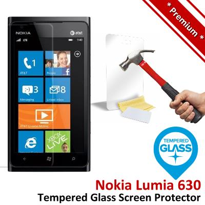 Premium Protection Nokia Lumia 630 Tempered Glass Screen Protector
