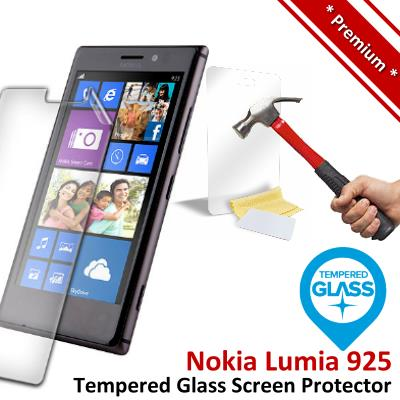 Premium Protection Nokia Lumia 925 Tempered Glass Screen Protector