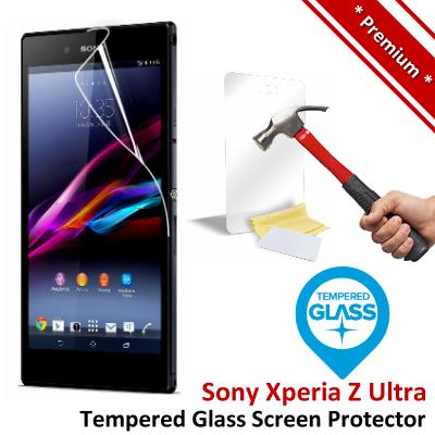 Premium Protection Sony Xperia Z Ultra Tempered Glass Screen Protector