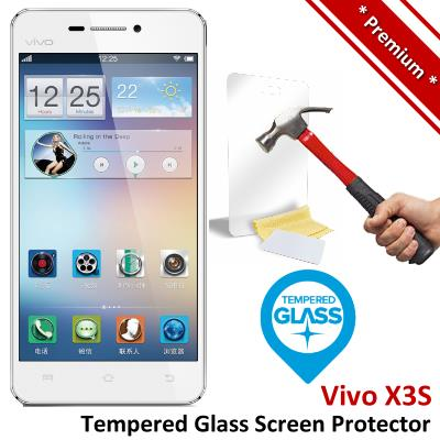 Premium Protection Vivo X3S Tempered Glass Screen Protector