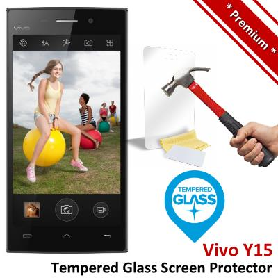 Premium Protection Vivo Y15 Tempered Glass Screen Protector