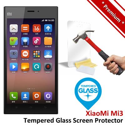 Premium Protection Xiaomi Mi3 Mi 3 M3 Tempered Glass Screen Protector