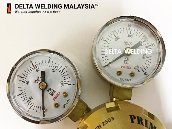 PREMIUM QUALITY DELTA WELDING LPG Single Stage Regulator Malaysia