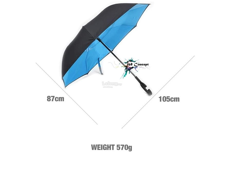 Premium Quality Double Layer Reverse Umbrella