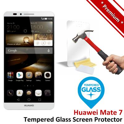 Premium Quality Huawei Ascend Mate 7 Tempered Glass Screen Protector