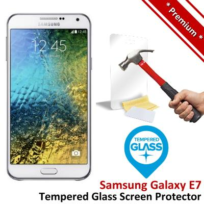 Premium Quality Samsung Galaxy E7 Tempered Glass Screen Protector