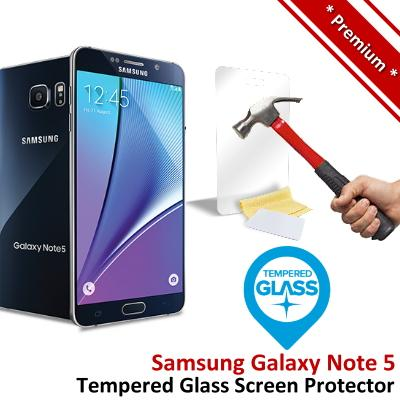 Premium Quality Samsung Galaxy Note 5 Tempered Glass Screen Protector
