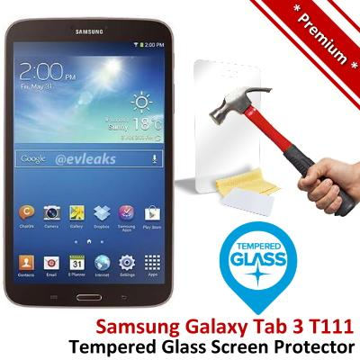 Premium Samsung Galaxy Tab 3 T111 Tempered Glass Screen Protector