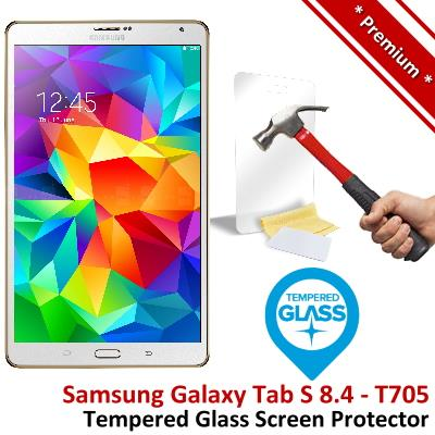 Premium Samsung Galaxy Tab S 8.4 T705 Tempered Glass Screen Protector