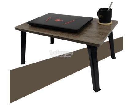 Premium SU 4060 Japanese Style Foldable Laptop Table - Sonoma Dark