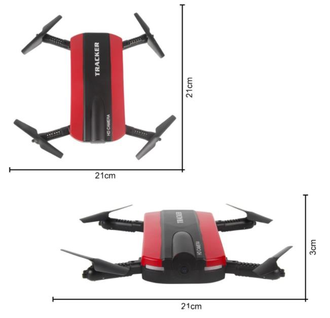 [PREORDER] JXD 523 Poxket Selfie Drone Wifi