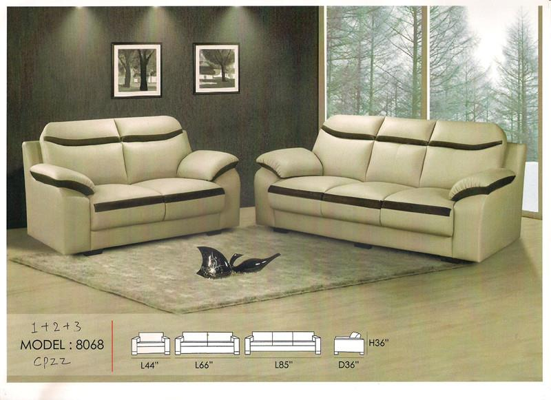 Low Price Installment Plan Sofa Set 1+2+3 Seater Model - 8068