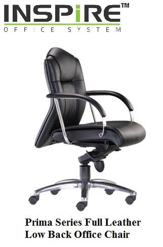 Admirable Prima Series Full Leather Low Back Office Chair Creativecarmelina Interior Chair Design Creativecarmelinacom