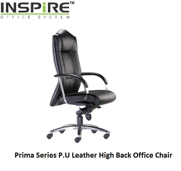 Prima Series P.U Leather High Back Office Chair