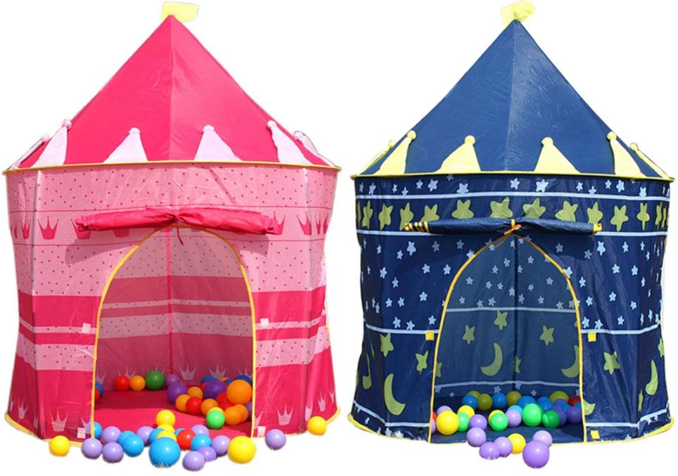 Prince/Princess Castle Kids Play Tent+PlayTent 100 Colourful Balls  sc 1 st  Lelong.my : castle play tent - memphite.com