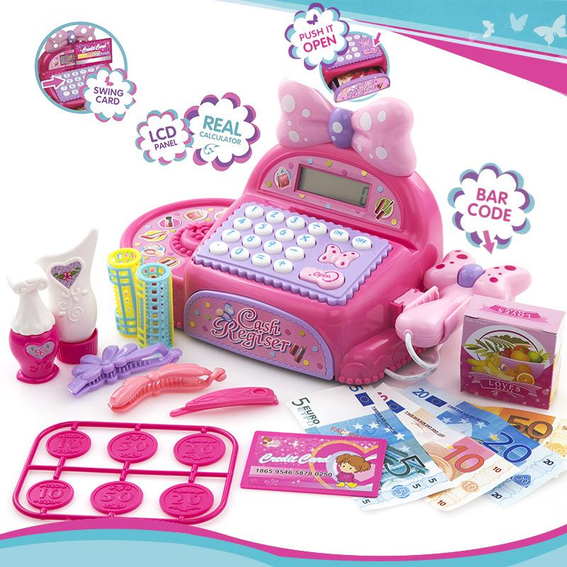Princess Cosmetic Electronic Cash Register with Sound & Light