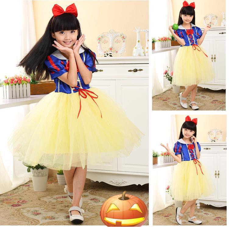 Princess Snow White Halloween Costume