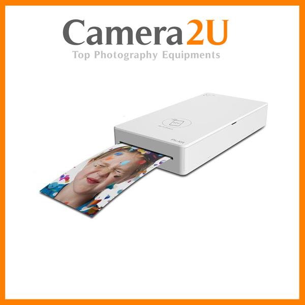 PRINICS PICKIT M1 SMARTPHONE PHOTO PRINTER (WHITE) + 1 CARTRIDGE FOR P