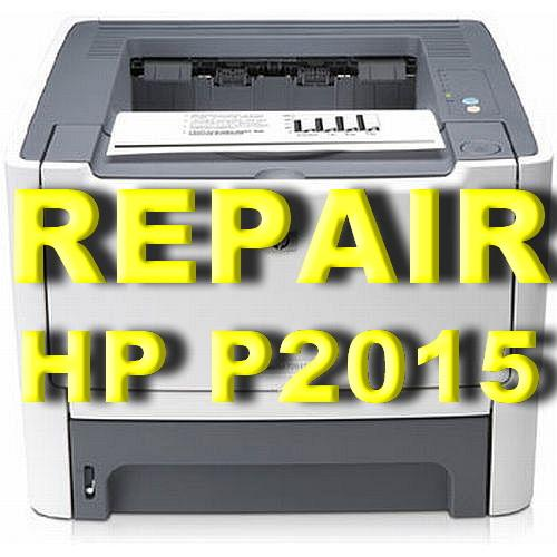 ( PRINTER REPAIR ) HP LASERJET P2015 PRINTER
