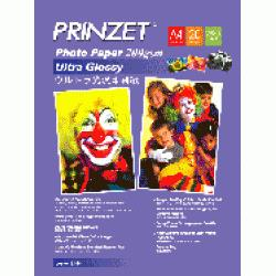 Prinzet Photo Paper A4 200gsm Ultra Glossy, 20 Sheets