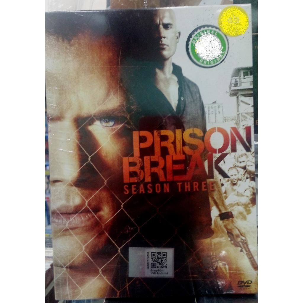 Prison Break 3 Season Three Dvd