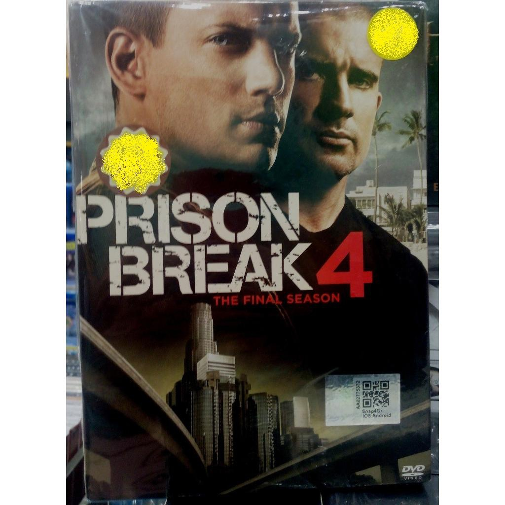 Prison Break 4 The Final Season 6dvd